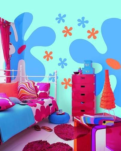 Zabawa kolorami w pokoju dziecka w duchu Free Spirit
