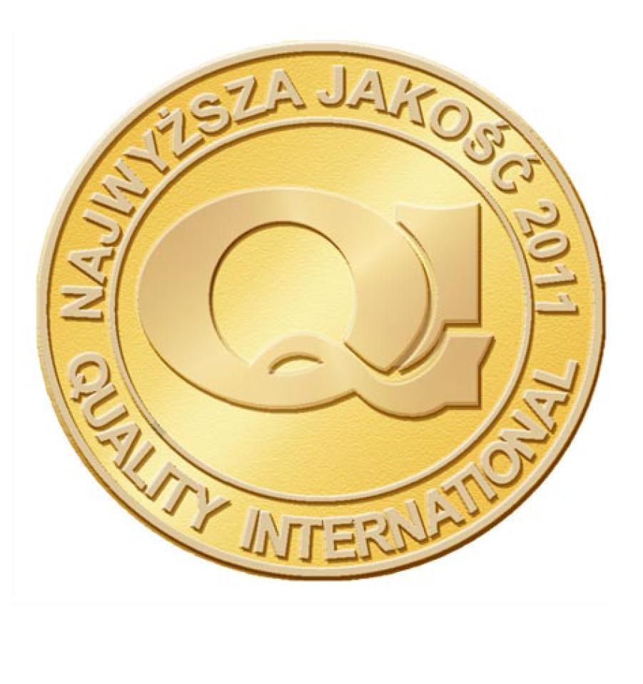 Złoty medal QI 2011 dla Candy Polska