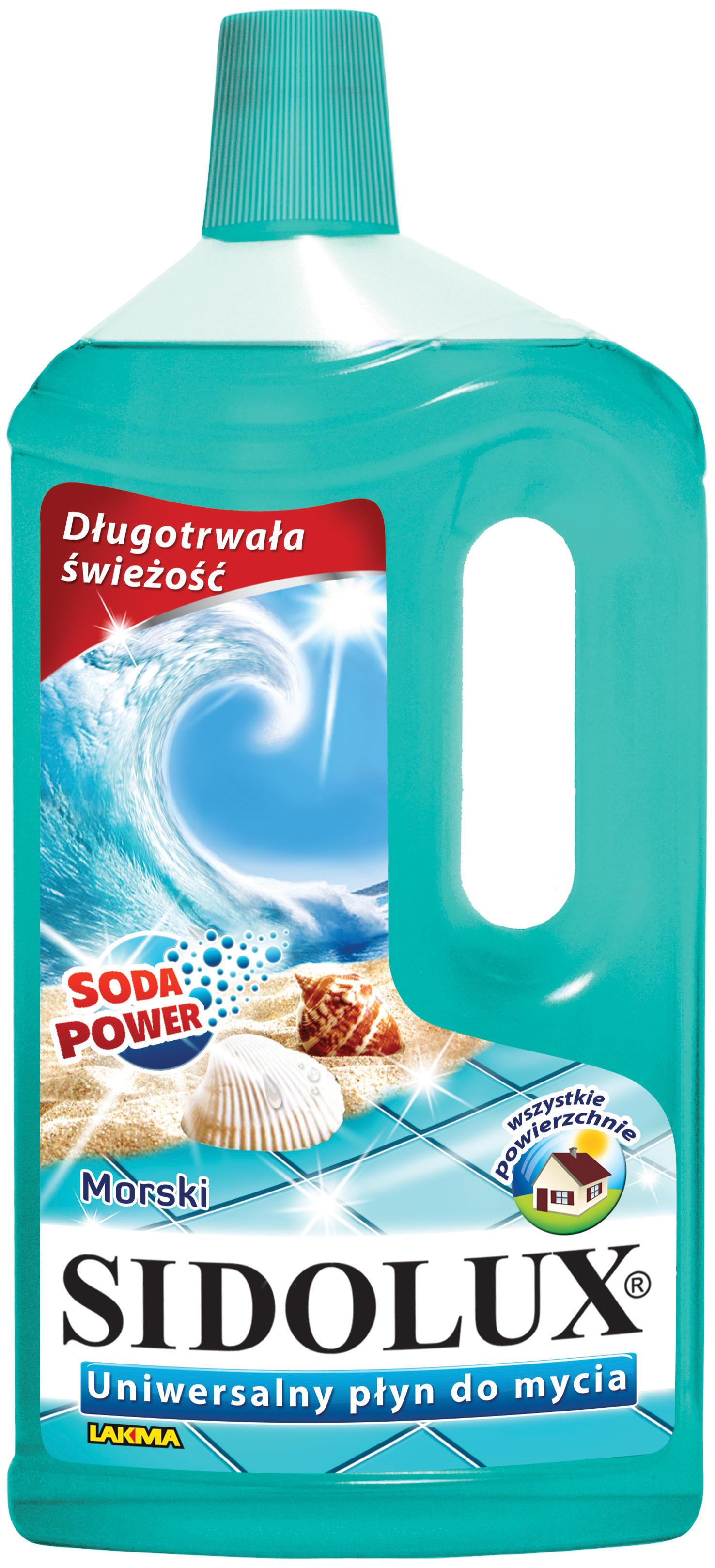 Nowe oblicze linii Sidolux do mycia uniwersalnego