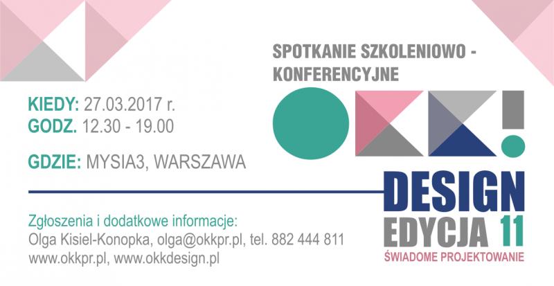 11. spotkanie OKK! design już 27 marca