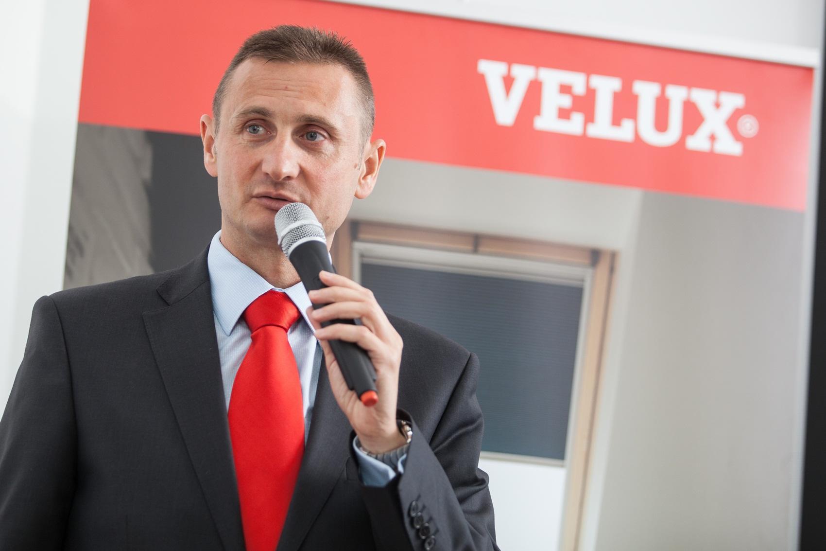15-lecie rozpoczęcia produkcji VELUX w Gnieźnie