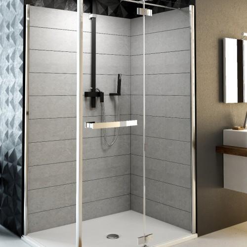 Aquaform HD Collection drzwi uchylne ze scianka