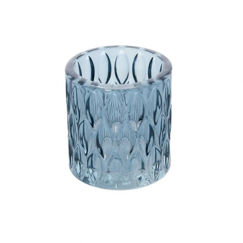 Dekoria.pl, świecznik Ryon II Blue