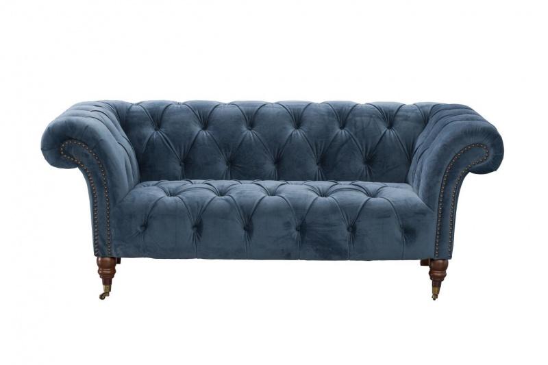 Dekoria.pl, sofa Chesterfield Glamour Velvet Midnight
