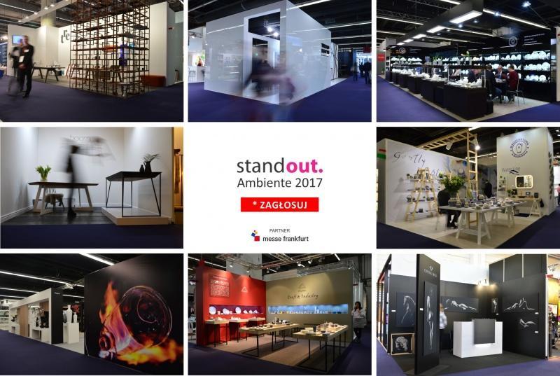 39. Edycja StandOUT. Ambiente 2017 Frankfurt. Bo na targach nie wystarczy się wystawiać! Na targach trzeba zaistnieć!