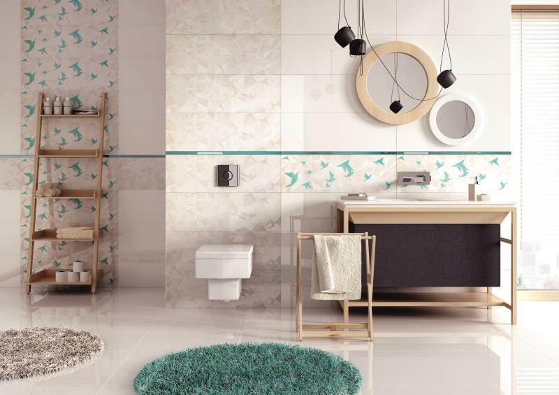 Akwamaryna w Twojej łazience