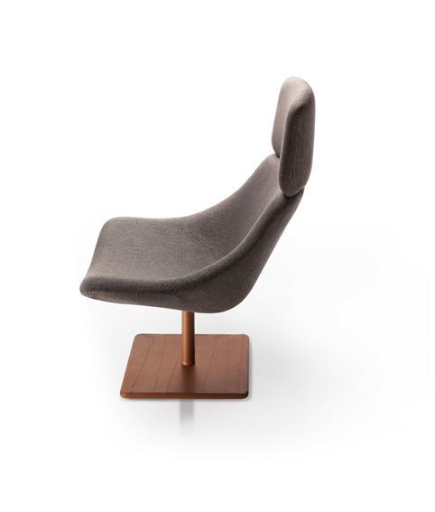 NOTI kolekcja foteli i krzeseł MISHELL projekt Piotr Kuchciński