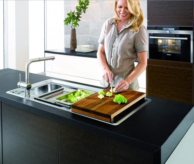 Blanco Steamer System Perfekcyjne akcesoria do gotowania na parze