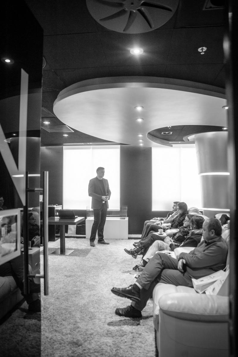 Andrew Lucas London przybliża architektom świat nowoczesnych technologii