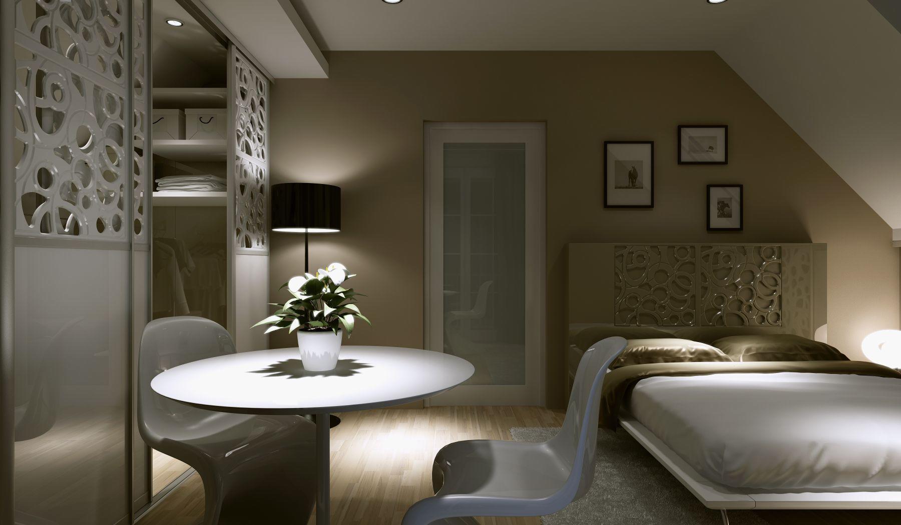 Śpij spokojnie – przytulna i funkcjonalna sypialnia