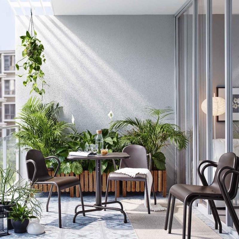 Balkon – kawałek ogrodu w każdym domu