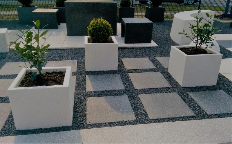 Betonowe rozwiązania do ogrodu