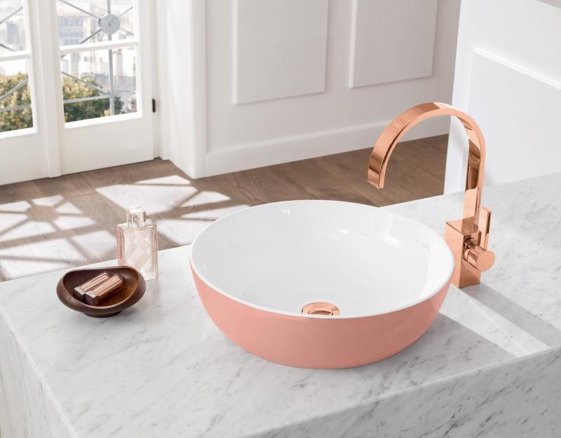 Ceramika otulona kolorem – nowe odcienie umywalek Artis od Villeroy & Boch