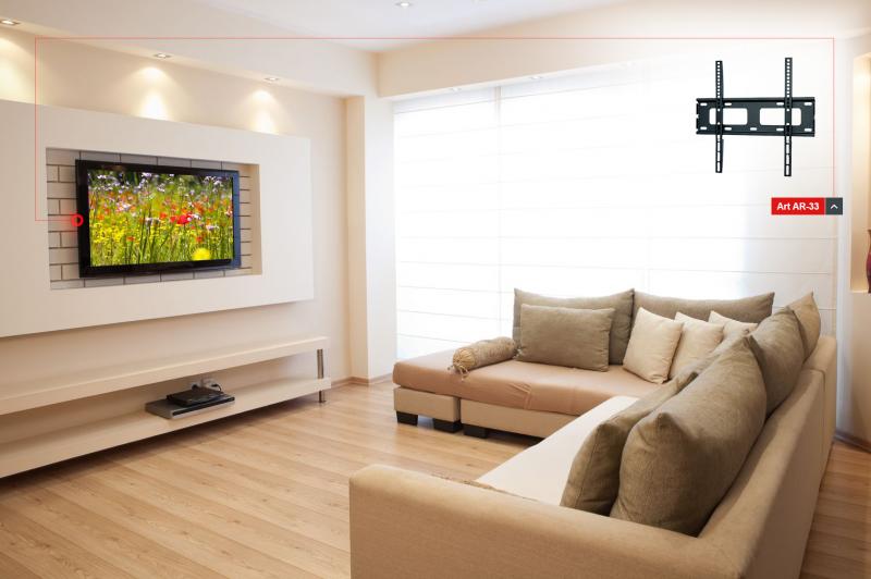 Co ma wisieć… - telewizor w małym mieszkaniu