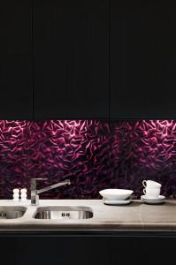 DUNIN violet silk black kitchen