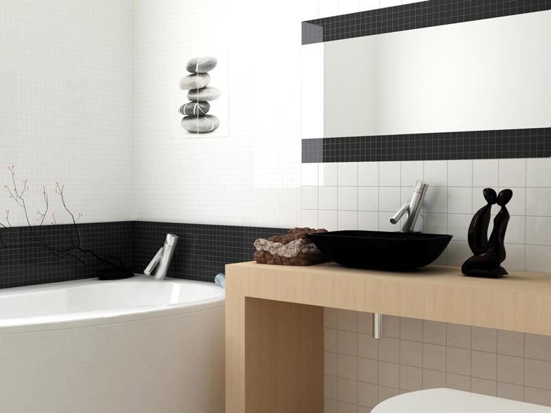 Doskonały układ łazienki