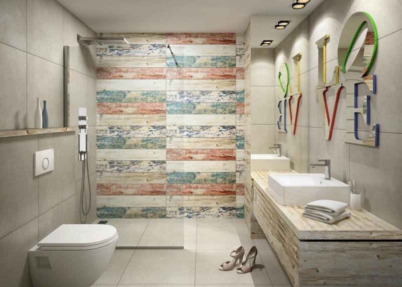 Dużo pomysłów na małe łazienki