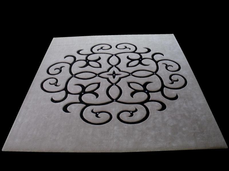 Dywany z kryształkami Swarovskiego – design i elegancja