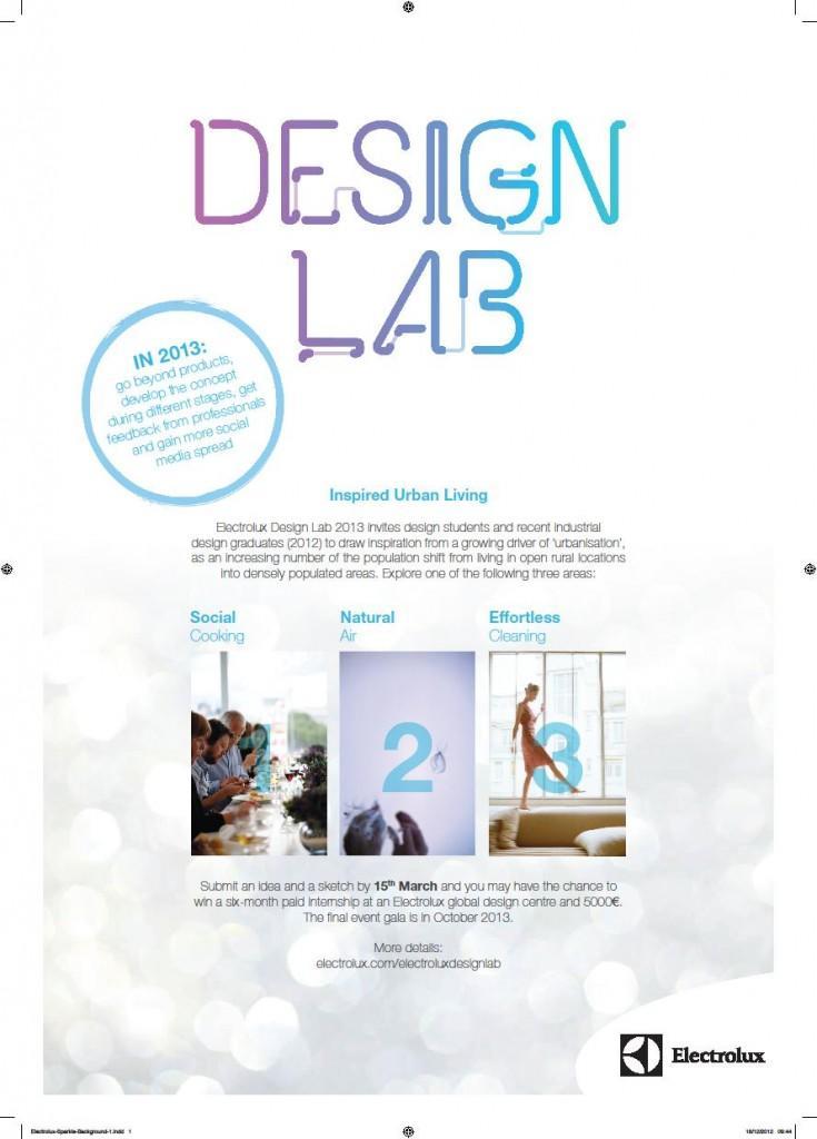 Electrolux Design Lab 13_poster