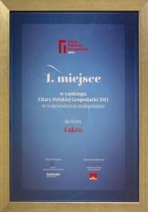 FAKRO Filar Polskiej Gospodarki 2013