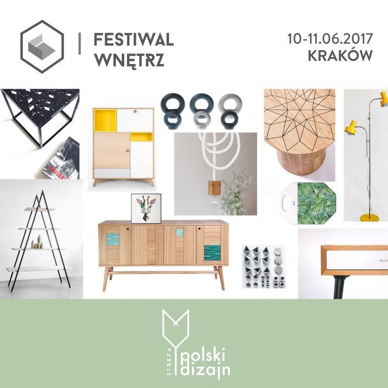 FESTIWAL WNĘTRZ Targi Aranżacji i Wyposażenia Wnętrz KRAKÓW 10-11.06.2017