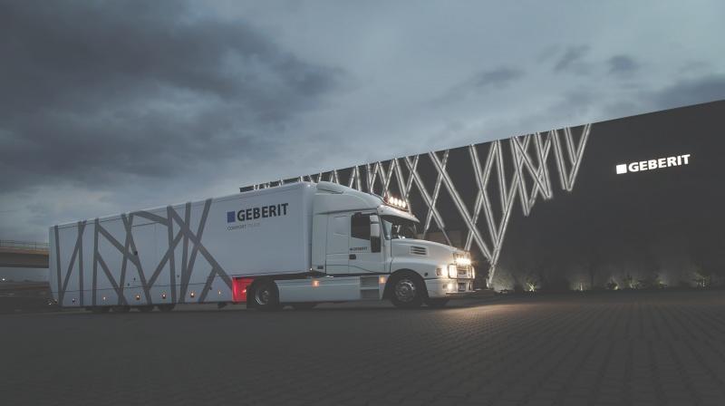 Geberit Comfort Truck – spotkanie z marką