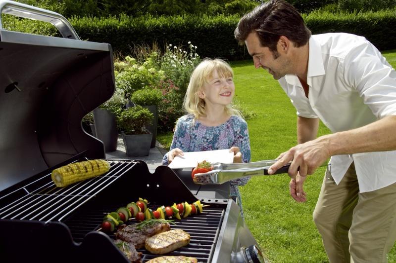 Grill gazowy… i zdrowy obiad gotowy