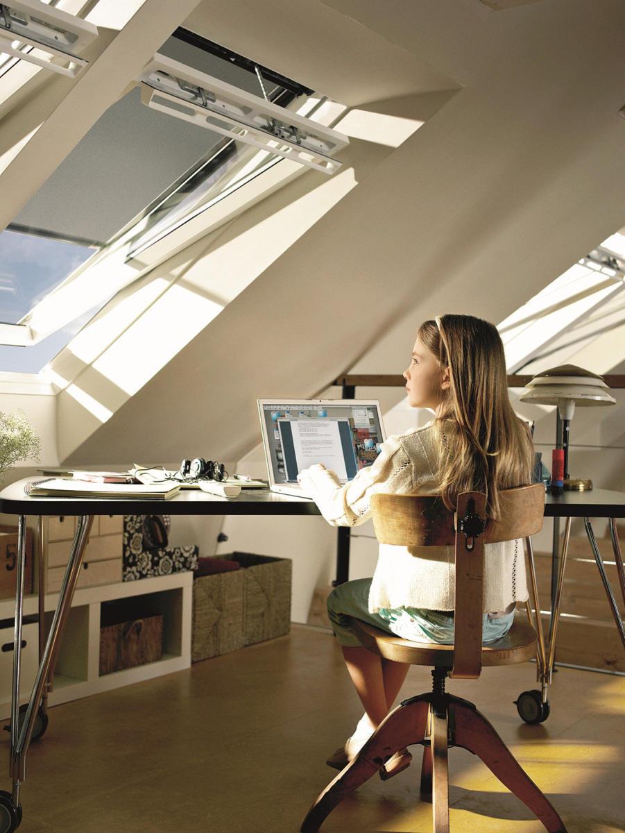 Idealny pokój do nauki – dobrze doświetlony i pełen świeżego powietrza