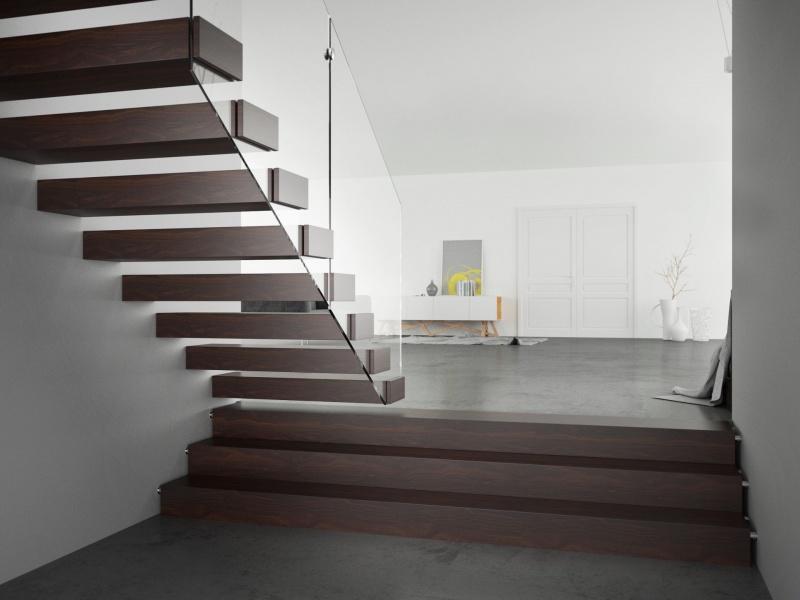 Jak dobrać schody do stylu wnętrza oraz koloru podłogi?