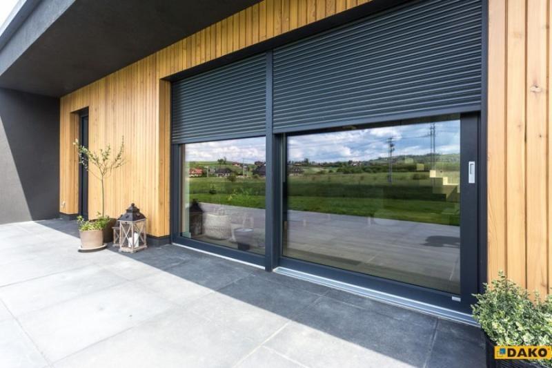 Jakie okna, drzwi i rolety na taras?