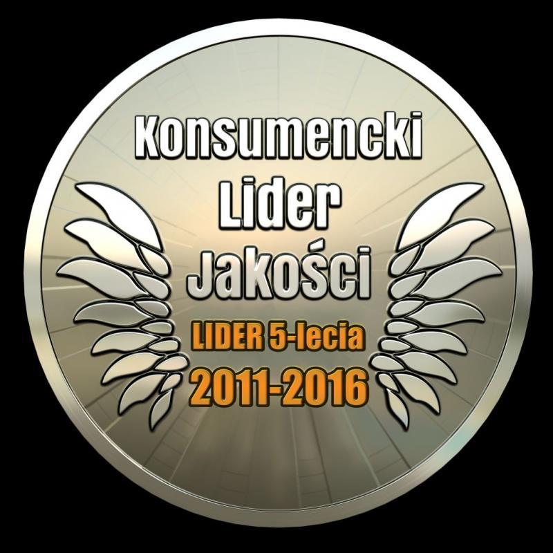 JANPOL z godłem Konsumenckiego Lidera Jakości 5 -lecia