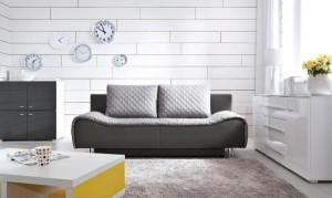 Sofa inarożniki odBlack Red White 1