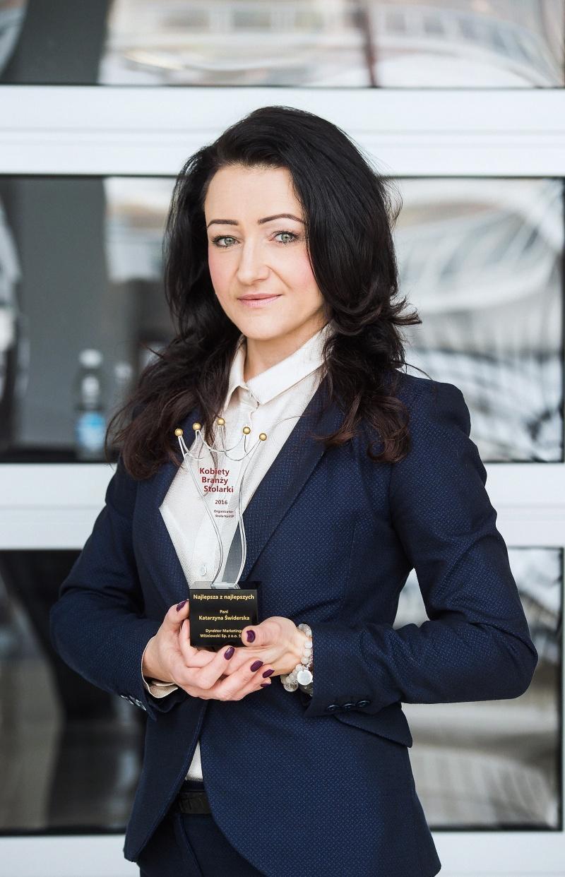 Katarzyna Świderska liderką świata stolarki