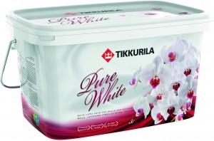 Tikkurila pure white 3L