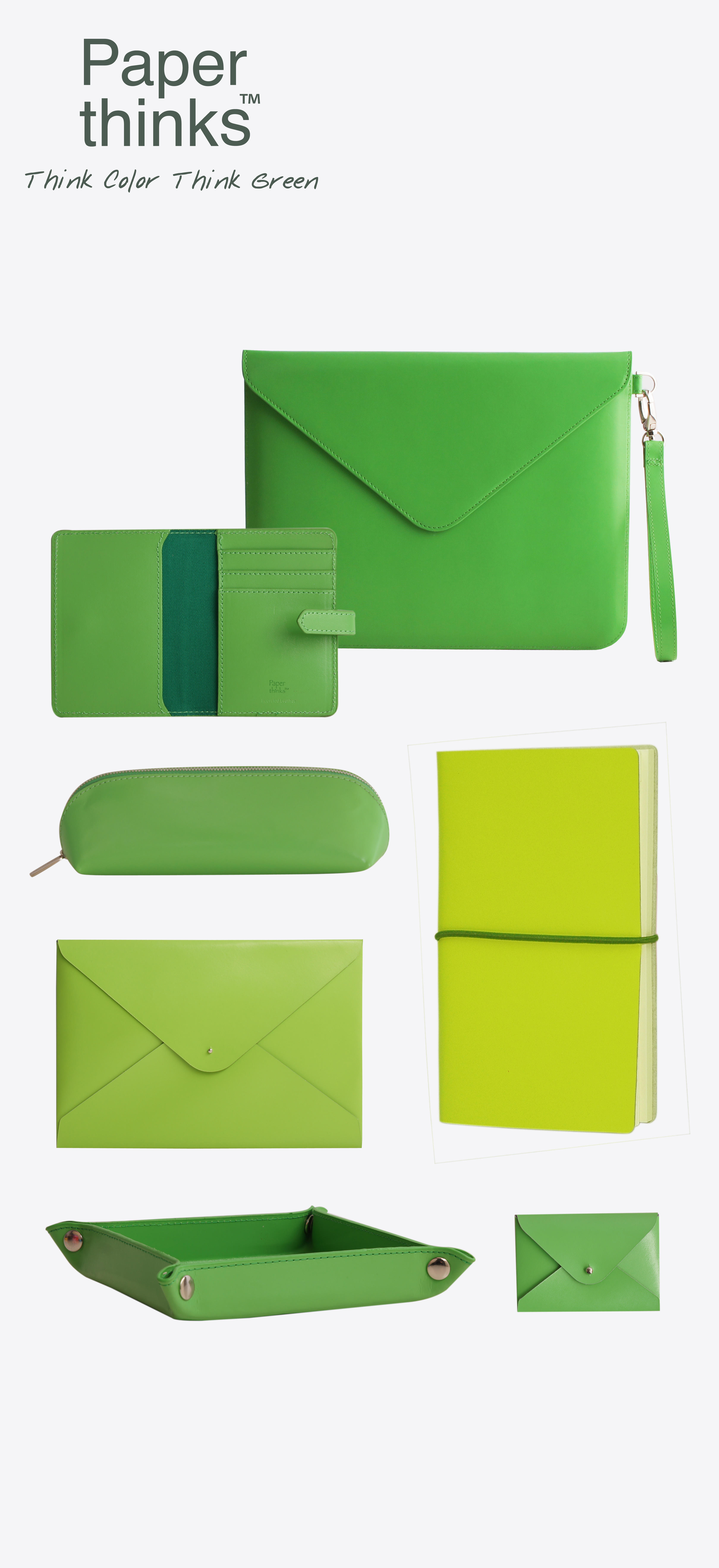 Kolorowe produkty Paperthinks