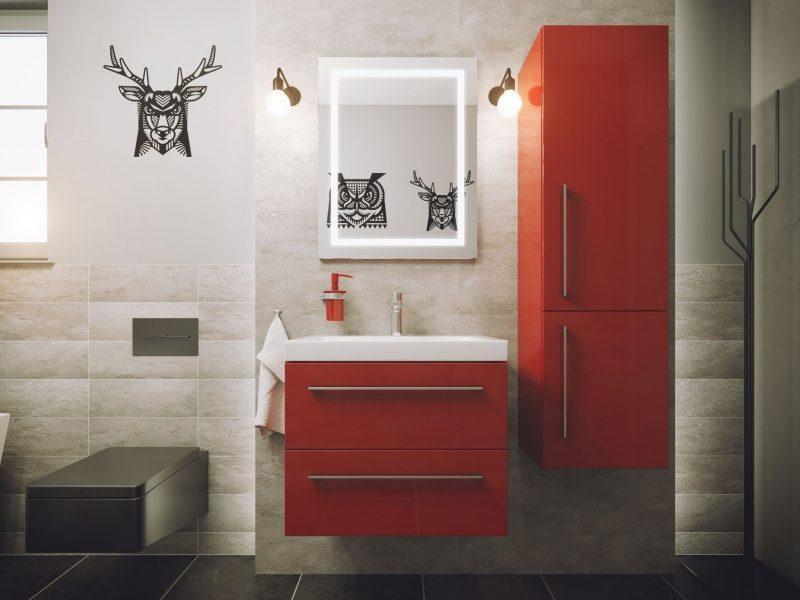Komfortowe Meble łazienkowe Podwieszane Czy Stojące Wnętrze I Ogród