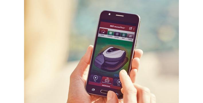 Koszenie na odległość - najnowszy robot koszący Honda Miimo 3000 z aplikacją na smartfona