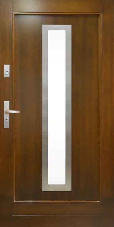 Król nowoczesnej elegancji – drzwi zewnętrzne ELEGANT INOX