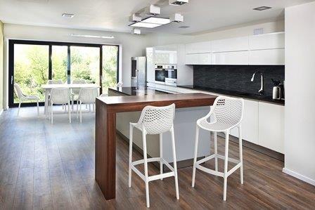 Krzesło do kuchni, jadalni, salonu Siesta Air z polipropylenu