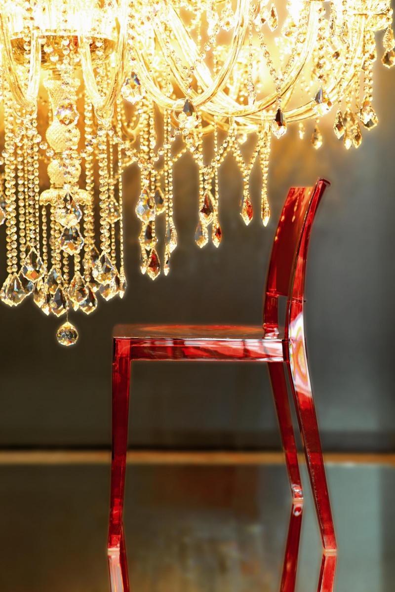 Krzesło z poliwęglanu Gyza przezroczyste