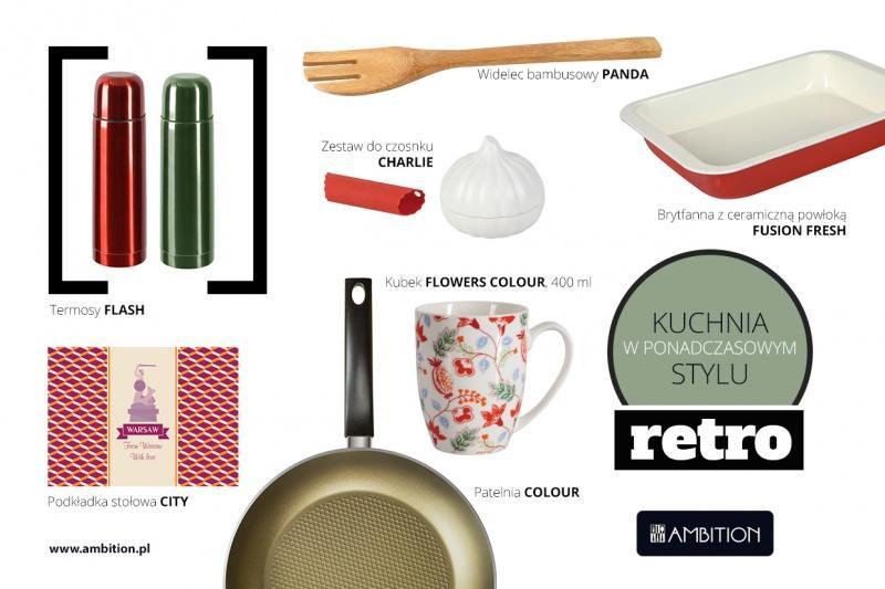 Kuchnia w ponadczasowym stylu retro