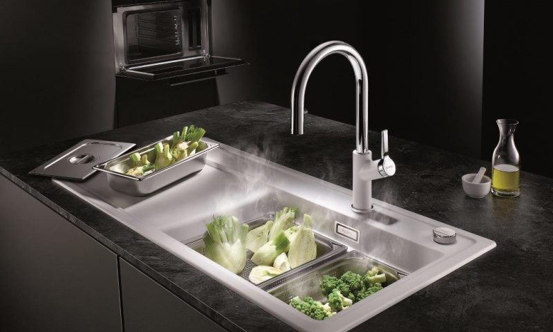 Blanco Steamer System Plus mat. COMITOR