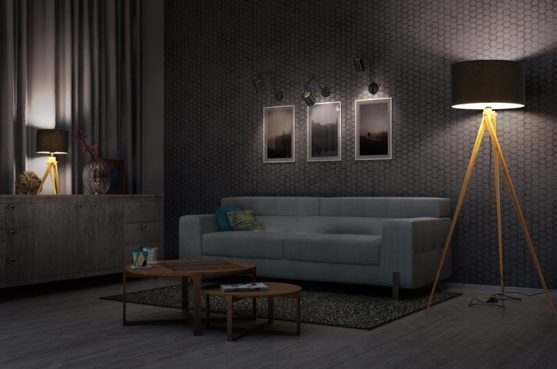 Lampy podłogowe na trójnogu – TRIPOD marki LIGHTWOOD