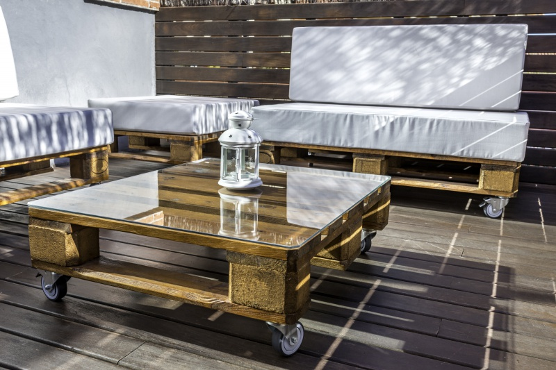 Last minute: sofa ogrodowa DIY