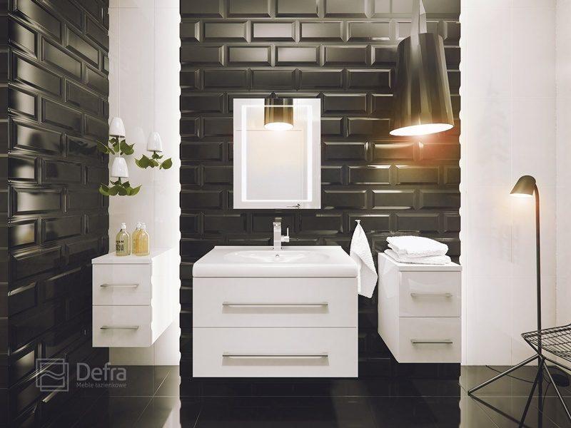 łazienki W Czerni I Bieli 4 Inspiracje Wnętrze I Ogród