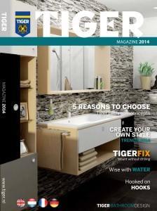 Okładka Tiger Magazine 2014