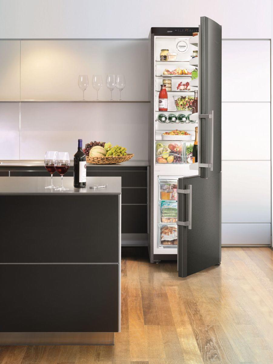 Liebherr wprowadza nowy, ekskluzywny design BlackSteel