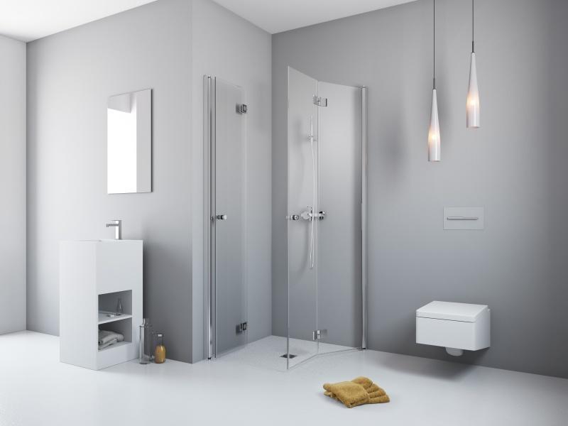Kabina prysznicowa marki Radaway z drzwiami typu bifold