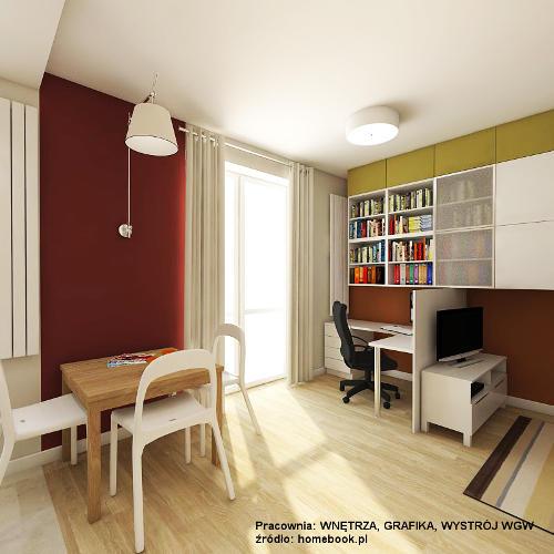 Małe pomieszczenie i dużo dokumentów