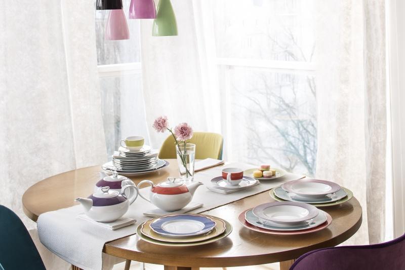 Mieszaj kolory, łącz wzory! Porcelana z kolekcji MIX&MATCH ożywi Twój stół